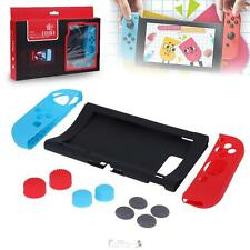 Anti-slip Silicone Cover Skin Case Kit for Nintendo Switch Console Joysticks