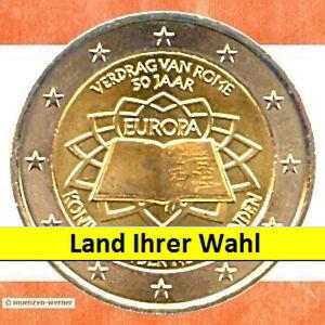€Sondermünzen: 2 Euro Münze 2007 Römische Verträge RV zwei€ Sondermünze 1 aus 17