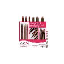 Knit Pro Symfonie Wood Double Pointed Needle Set