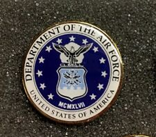 Department Of The Air Force Usa Lapel Pin Us Military Made In America
