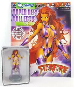 DC Comics Super Hero Collection Starfire #17 Magazine & Resin Figurine NEW