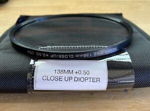 138mm Revar Cine Close-Up Diopter +0.50 New Open Box! USA Warranty - Ships FAST!