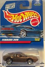 NIP! Hot Wheels 1997 ~ FERRARI 308 ~ Brown COLLECTOR #816