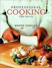 Professional Cooking, Wayne Gisslen,0471436259, Book, Good