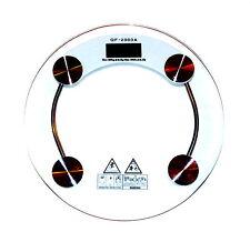 q&f 2003a LCD Diseño Cristal Báscula Digital Báscula 180kg /0,1kg-396lb/ 0,2lb