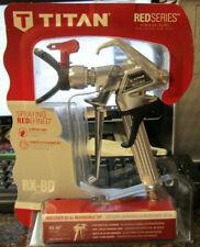 Titan 538007 Rx 80 Airless Spray Gun Red Series
