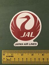 japan airlines Decal/sticker