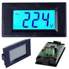 Digital Voltmeter AC80-500V LCD Display Voltage Power Volt Digital Panel Ammeter