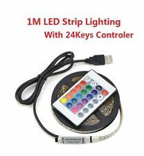 LED strip light 5050 SMD 1M light Tape Flexible TV backlight decor Lamp