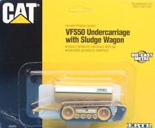 ERTL 1:64 S Scale Cat VFS50 Undercarriage Sludge Wagon Built Model #2324