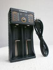 LiitoKala Lii-202 Ladegerät Smart Charger Power Bank 18650 14500 18350 Blitzvers