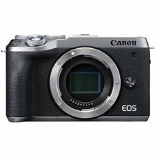 Canon Mirrorless Camera 32.5MP EOS M6 Mark II Silver BODY ONLY EOSM6MK2BK-BODY