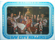 BAY CITY ROLLERS T-SHIRT IRON-ON VINTAGE HEAT TRANSFER 1970s 1980s REAL RAREST