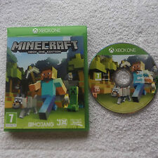 MINECRAFT XBOX ONE EDITION V.G.C. FAST POST ( kids action/adventure game )