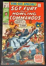 Sgt.Fury and his Howling Commandos King Size Special (Annual) #6  8/70