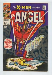 X-Men #43 (1968) 1st App Red Raven + Magneto Scarlet Witch Quicksilver FN/VF 7.0