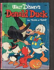 "Walt Disney's Donald Duck #26 ~ ""Trick or Treat"" Banks Art 36pgs.~ 1952 (3.0) WH"