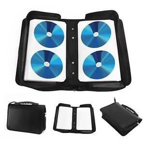 120 CD DVD Disc Disk Carry Case Wallet Bag Storage Folder Rings Binder Compacts