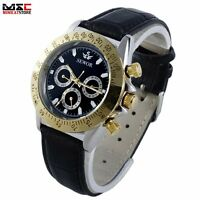 Luxury Stainless Steel Steampunk Automatic Mens Mechanical Sport Wrist Watch UK