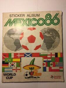 Panini Mexico 86 World Cup Sticker Album. 100% full, Very good condition