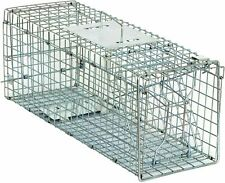 Animal Cage Humane Trap Catch & Release - Brand New 24x8x7.5 Steel Zeny H01-7032