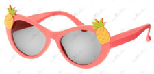 Gymboree NWT Guava Pink ALOHA SUNSHINE PINEAPPLE FLORAL SUNGLASSES 0 1 2 Years