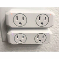 2Pcs WiFi Socket Smart Plug Swtich Outlet For Echo Alexa Google Home Remote USA