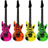 INFLATABLE BLOWUP GUITAR MUSIC WHOLESALE JOB LOT BULK BUY ONLINE SELLERS