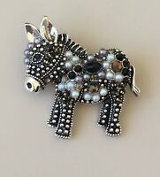 Adorable Donkey   pin brooch