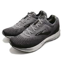 Brooks Levitate 2 Black Grey Ebony Silver Men Running Shoes Sneakers 110290 1D