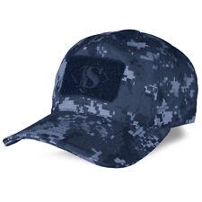 Tru-Spec Contractor Military Tactical Patch Baseball Cap Hat Midnight Digital
