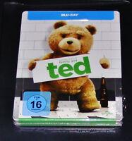Ted Avec Mark Wahlberg Limitée en Relief steelbook blu ray Neuf & Ovp