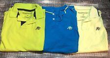 Men's Aeropostale Polo Shirt Lot Sz L