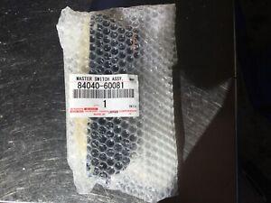 LANDCRUISER 100 105 LEXUS LX470 MASTER POWER WINDOW SWITCH 84040-60081 GENUINE