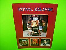 Bobs Space Racers TOTAL ECLIPSE Original 1996 Redemption Arcade Game Sale Flyer