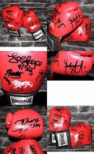 A Pair Of Boxing Gloves Signed- Team GB Boxing Team In rio 2016- 12 Signatures