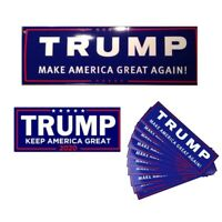 50pcs/set Donald Trump for President 2020 Keep America Great Bumper Car Stickers