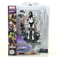 Marvel Select Gamora with Rocket Action Figures Guardians of the Galaxy Disney