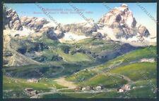 Aosta Valtournenche Cervino cartolina ZQ4855