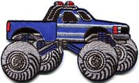 Monster truck 4 X 4 pickup auto racing ute applique iron-on patch new S-1129