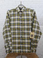New Burton Womens Splinter Long Sleeve Flannel Shirt Medium Blazed Catch Plaid