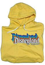 Disney Parks Disneyland Resort Yellow Hoodie Hooded Sweatshirt, Size S