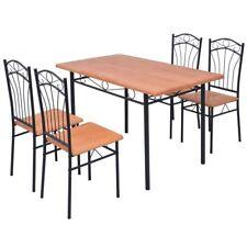 Essgruppe Esstisch mit 4/6 Stühlen Esszimmerstühle Sitzgarnitur Sitzgruppe Stuhl