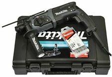Makita HR2470BX40 Tassellatore con Set di Punte e Attacco SDS-Plus - Nero