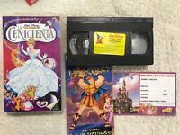 LA CENICIENTA VHS WALT DISNEY