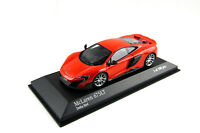 McLaren 675LT Delta Red Coupe, 2015, Exclusive 100 pcs. Minichamps 1:43