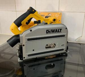Genuine Dewalt 18V XRP Cordless Plunge Saw Guide Rail Saw DC352 MINT L@@K!