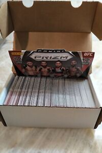 2021 Panini Prizm UFC Lot - Partial Base Set (115 Cards) - Plus 25 Doubles