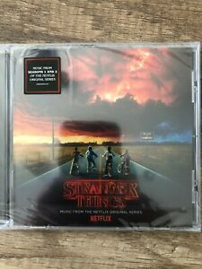 Stranger Things: Music From The Netflix Original Series soundtrack 2017 [CD]
