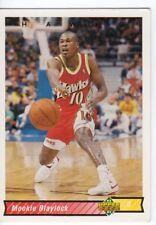 figurina CARD BASKET NBA 1992/93 NEW numero 92 MOOKIE BLAYLOCK